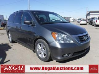Used 2010 Honda Odyssey Touring Wagon for sale in Calgary, AB