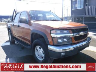 Used 2005 Chevrolet Colorado 4D Crew CAB 4WD for sale in Calgary, AB