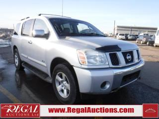 Used 2006 Nissan Armada 4D Utility AWD for sale in Calgary, AB