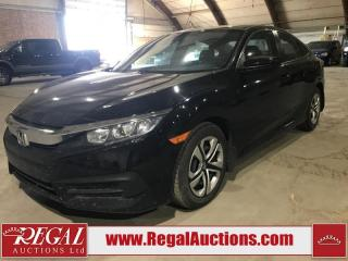Used 2016 Honda Civic LX 4D Sedan AT for sale in Calgary, AB