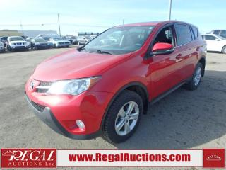 Used 2014 Toyota RAV4 XLE 4D Utility AWD 2.5L for sale in Calgary, AB