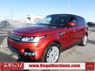 Used 2014 Land Rover Range Rover Sport Supercharged 4D Utility AWD for sale in Calgary, AB