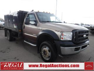 Used 2006 Ford F-450 XL REG CAB SD 4WD for sale in Calgary, AB