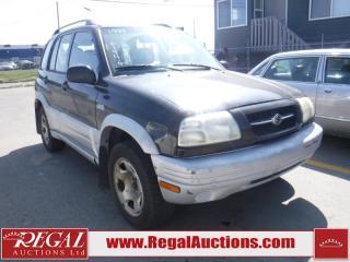 Used 1999 Suzuki Grand Vitara 4D Hardtop 4WD for sale in Calgary, AB