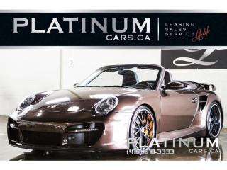 Used 2008 Porsche 911 TURBO CABRIOLET, TEC for sale in North York, ON