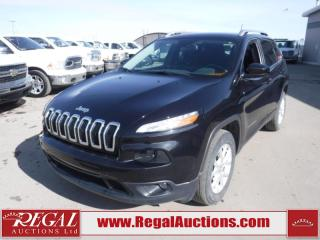 Used 2015 Jeep Cherokee North 4D Utility 4WD 3.2L for sale in Calgary, AB