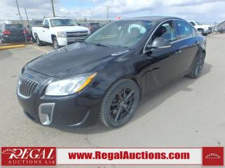 Used 2012 Buick Regal GS 4D Sedan 2.0L for sale in Calgary, AB