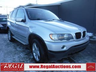 Used 2003 BMW X5 4D Utility 3.0I AWD for sale in Calgary, AB