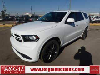 Used 2018 Dodge Durango GT 4D Utility AWD 3.6L for sale in Calgary, AB