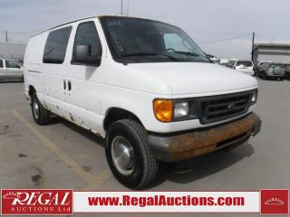 Used 2006 Ford E350 Vans Cargo VAN for sale in Calgary, AB