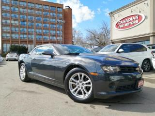 Used 2015 Chevrolet Camaro CLEAN CARFAX | AUTO | V6 3.6L | FULLY SERVICED | for sale in Scarborough, ON