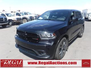 Used 2014 Dodge Durango SXT 4D Utility AWD 3.6L for sale in Calgary, AB