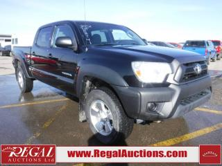 Used 2012 Toyota Tacoma 4D Crew CAB 4WD for sale in Calgary, AB