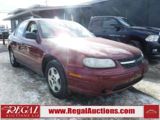 Used 2003 Chevrolet Malibu Base 4D Sedan for sale in Calgary, AB
