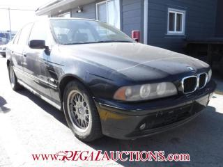 Used 2002 BMW 5 SERIES 525I 4D SEDAN for sale in Calgary, AB