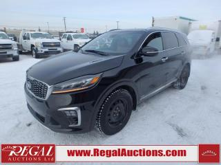 Used 2019 Kia Sorento SXL Limited 4D Utility AT 7P AWD 3.3L for sale in Calgary, AB