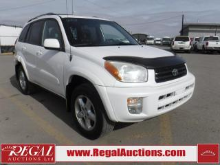 Used 2002 Toyota RAV4 Limited 4D Hardtop for sale in Calgary, AB