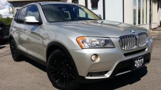 Used 2011 BMW X3 xDrive28i - LEATHER! BACK-UP CAM! ACCIDENT FREE! for sale in Kitchener, ON