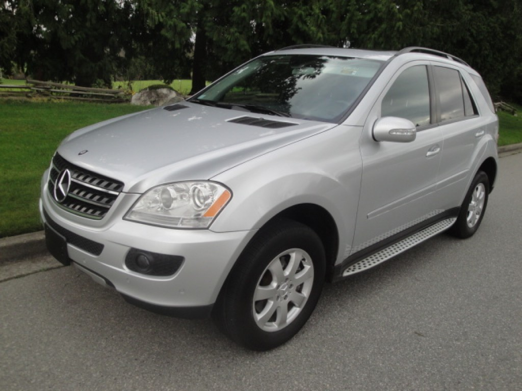 Used 2006 mercedes benz ml 350 for sale in surrey british for Used mercedes benz ml for sale