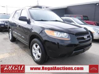 Used 2007 Hyundai Santa Fe GL 4D Utility 3.3L 2WD for sale in Calgary, AB