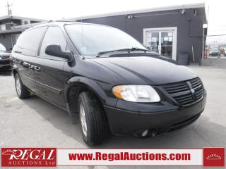 Used 2005 Dodge GRAND CARAVAN SXT 4D WAGON 3.8L for sale in Calgary, AB