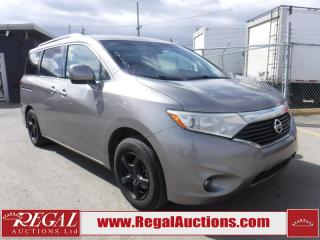 Used 2011 Nissan Quest SV 4D Wagon for sale in Calgary, AB