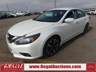 Used 2016 Nissan Altima SR 4D Sedan 2.5 AT for sale in Calgary, AB