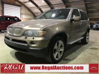 Used 2005 BMW X5 4D Utility AWD 4.4I for sale in Calgary, AB