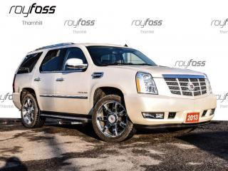 Used 2013 Cadillac Escalade Hybrid Sunroof Nav Leather 22 Chrome Whls for sale in Thornhill, ON