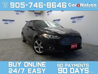 Used 2013 Ford Fusion SE TECH | APPEARANCE PKG | TOUCHSCREEN | REAR CAM for sale in Brantford, ON