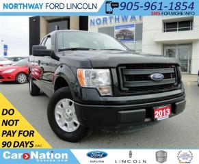 Used 2013 Ford F-150 STX | SUPERCAB | BEDLINER | SAT RADIO | for sale in Brantford, ON