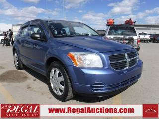 Used 2007 Dodge Caliber SXT 4D Hatchback L4 for sale in Calgary, AB