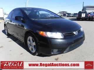 Used 2008 Honda Civic LX 2D Coupe for sale in Calgary, AB