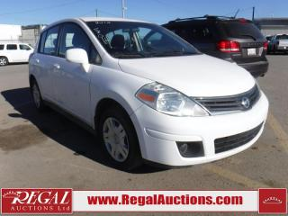 Used 2010 Nissan Versa 4D Hatchback for sale in Calgary, AB