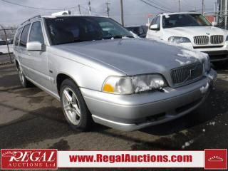 Used 1998 Volvo V70 S/ 4D Wagon for sale in Calgary, AB