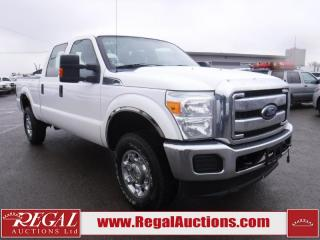 Used 2014 Ford F-350 S/D XLT CREW CAB SRW 4WD for sale in Calgary, AB