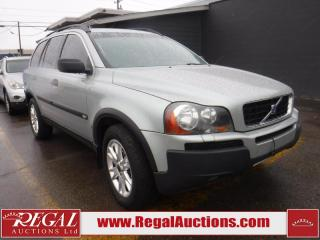 Used 2003 Volvo XC90 T6 4D Utility AWD for sale in Calgary, AB