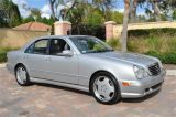 Photo of Silver 2000 Mercedes-Benz E55 AMG