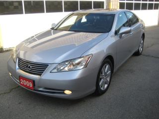 Used 2009 Lexus ES 350 NAVIGATION/R.CAMERA/HEATED&COOLED SEATS for sale in North York, ON