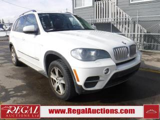 Used 2011 BMW X5 XDRIVE35D 4D Utility AWD for sale in Calgary, AB