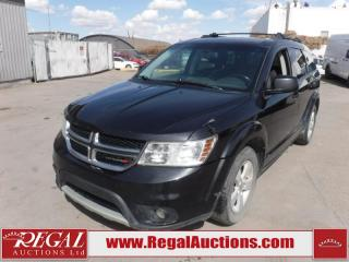 Used 2012 Dodge Journey SXT 4D Utility FWD 3.6L for sale in Calgary, AB