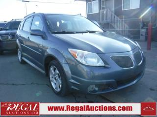 Used 2006 Pontiac Vibe Base 4D Hatchback for sale in Calgary, AB
