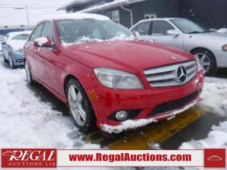 Used 2008 Mercedes-Benz C-Class C300 4D Sedan 4MATIC for sale in Calgary, AB