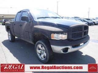 Used 2003 Dodge Ram 1500 4D Quad CAB 4WD for sale in Calgary, AB