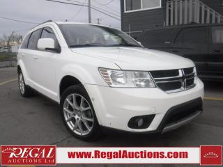 Used 2011 Dodge Journey SXT 4D Utility FWD for sale in Calgary, AB