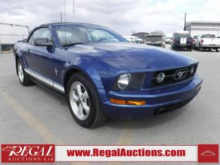 Used 2007 Ford Mustang Base 2D Convertible for sale in Calgary, AB