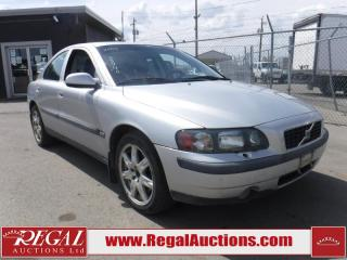 Used 2003 Volvo S60 T5 4D Sedan for sale in Calgary, AB