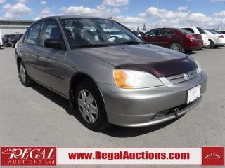 Used 2003 Honda Civic DX-G 4D Sedan 1.7L for sale in Calgary, AB