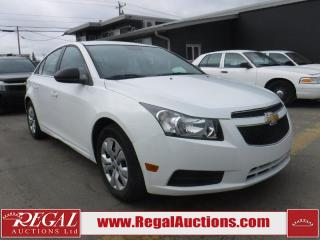 Used 2012 Chevrolet Cruze LS 4D Sedan for sale in Calgary, AB