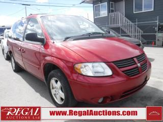 Used 2006 Dodge Grand Caravan SXT WAGON for sale in Calgary, AB